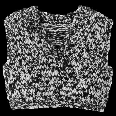 Pullover, 067 Schwarz/Weiss, hi-res