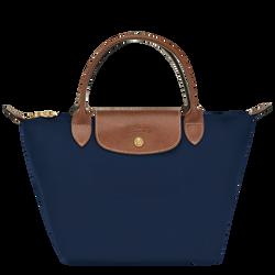 Top handle bag S, Navy