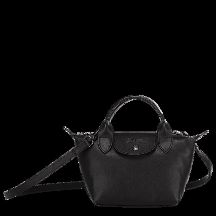 Handtasche XS, Schwarz/Ebenholz - Ansicht 1 von 6 - Zoom vergrößern