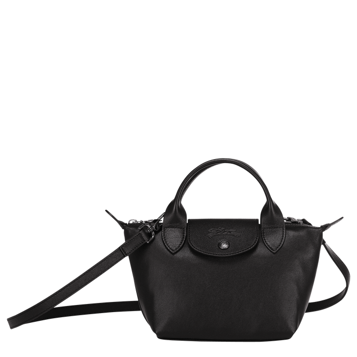 Top handle bag XS, Black/Ebony - View 1 of  6 - zoom in