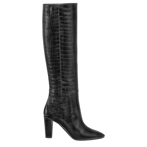 Fall-Winter 2021 Collection Heeled boots, Black