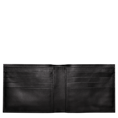 Croco Block Wallet, Black