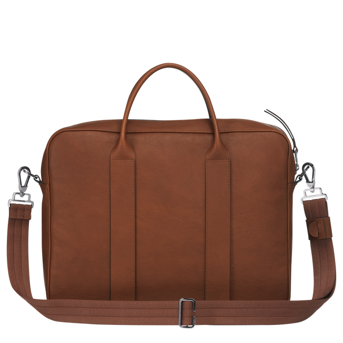 Briefcase M, Cognac - View 3 of 3 - zoom in