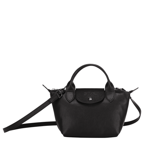 Top handle bag, Black, hi-res - View 1 of 3