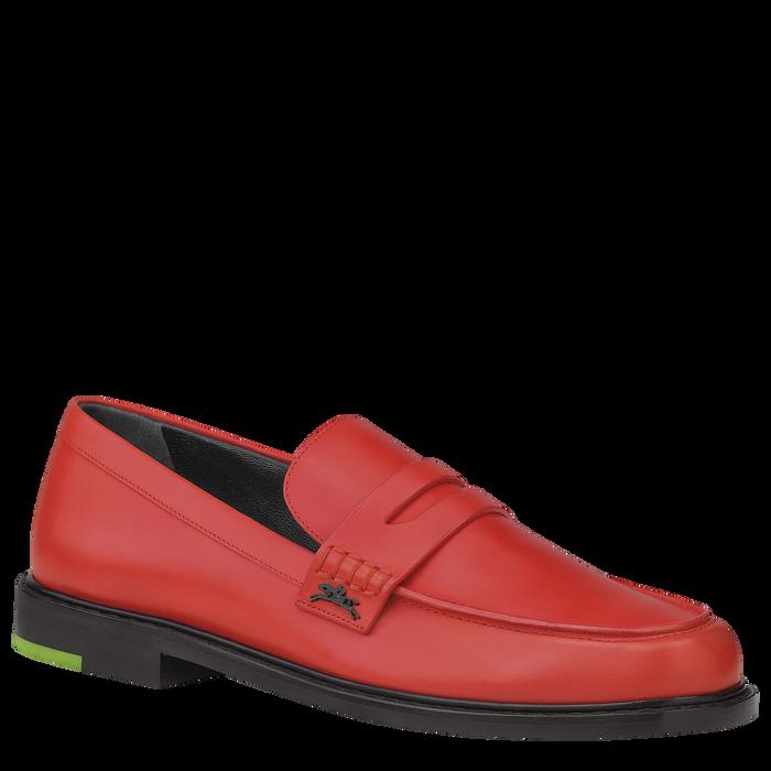 2021 秋冬系列 樂福鞋, 紅吻色