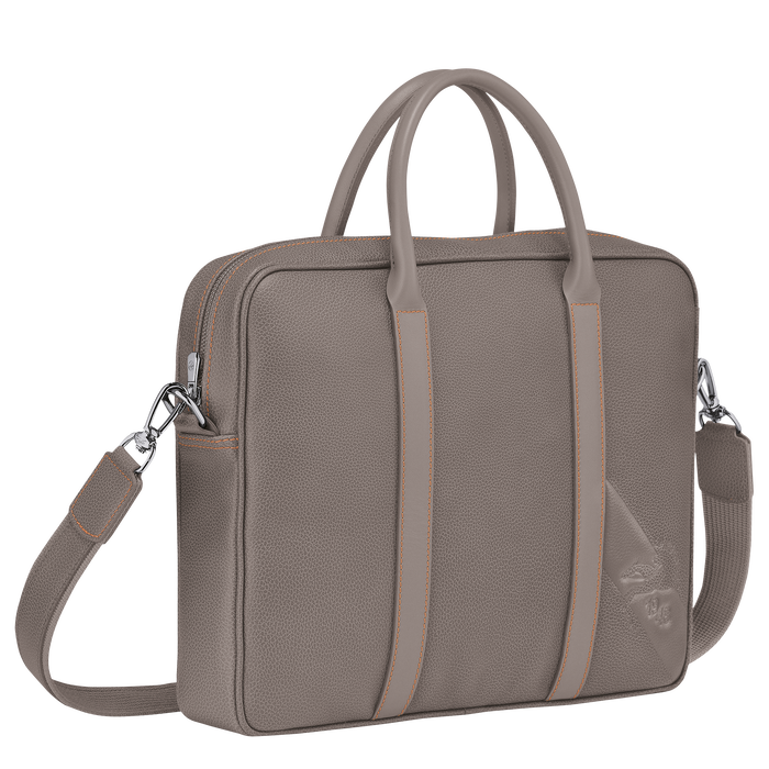 Briefcase XS, Taupe - View 2 of 3 - zoom in