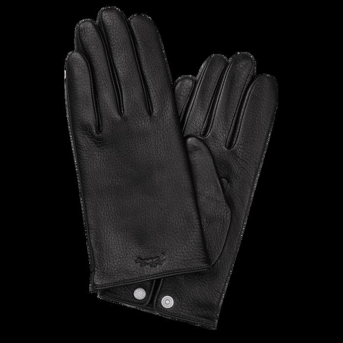 Men's gloves, Black/Ebony - View 1 of  1 - zoom in
