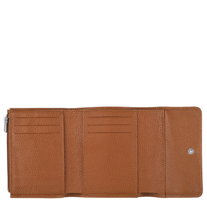 Compact wallet, Caramel - View 2 of  2 - zoom in