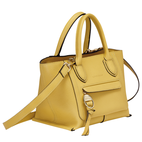 Top handle bag S, Yellow - View 2 of  3 -