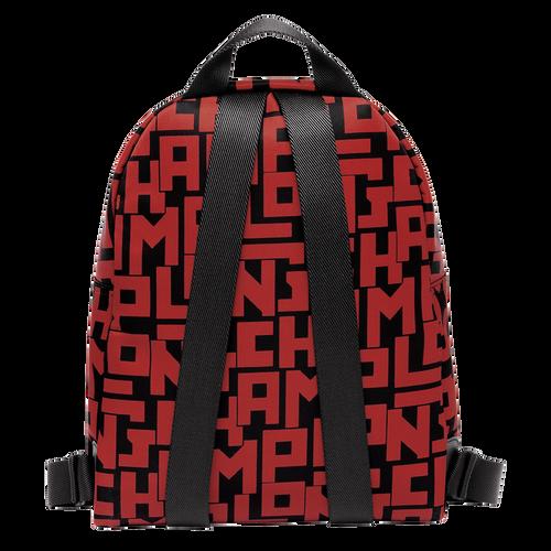 View 3 of Backpack S, C09 Black/Brick, hi-res