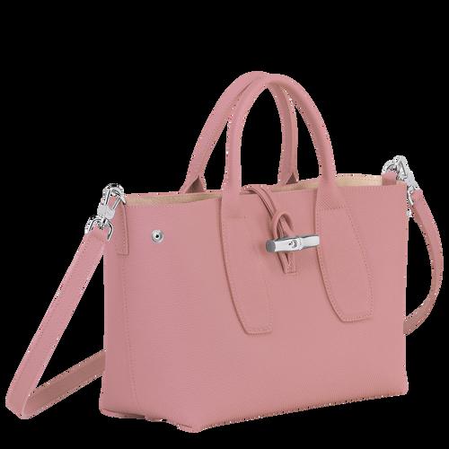 Top handle bag M, Antique Pink, hi-res - View 3 of 4