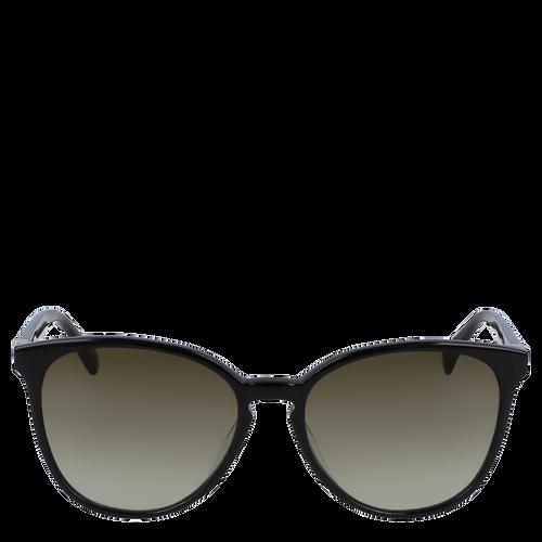 Zonnebril, Zwart geschubd, hi-res - View 1 of 3