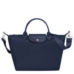 Top handle bag M, Navy