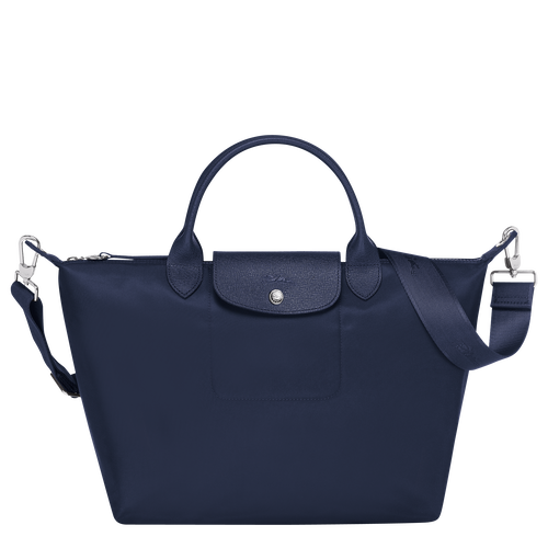 Top handle bag M, Navy - View 1 of  5 -