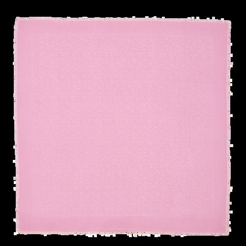 Vue 1 de Châle, Rose, hi-res