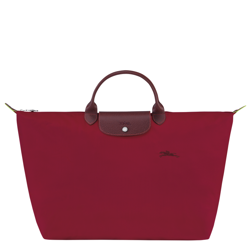 Le Pliage Green Travel bag L, Red