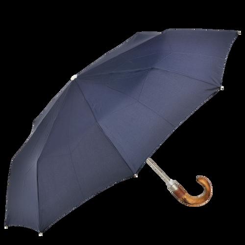 Parapluie mat rétractable, Navy - Vue 1 de 1 -