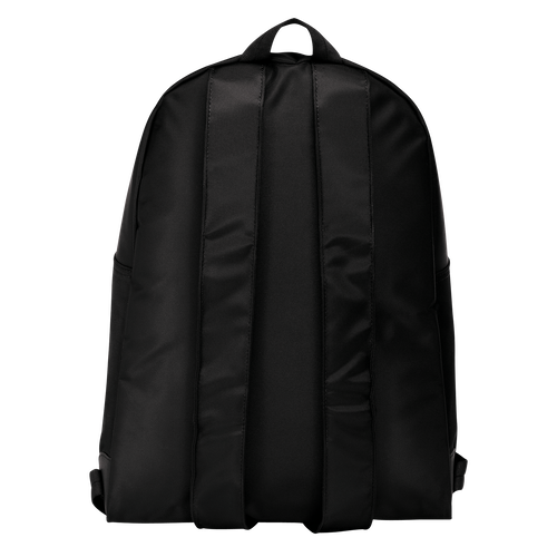 View 2 of Backpack M, 001 Black, hi-res