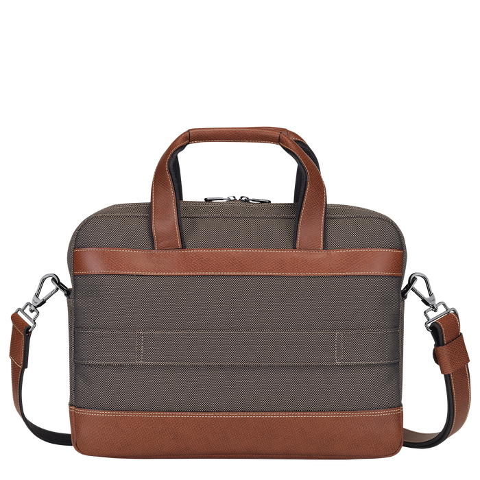 Briefcase S, Brown - View 3 of 3 - zoom in
