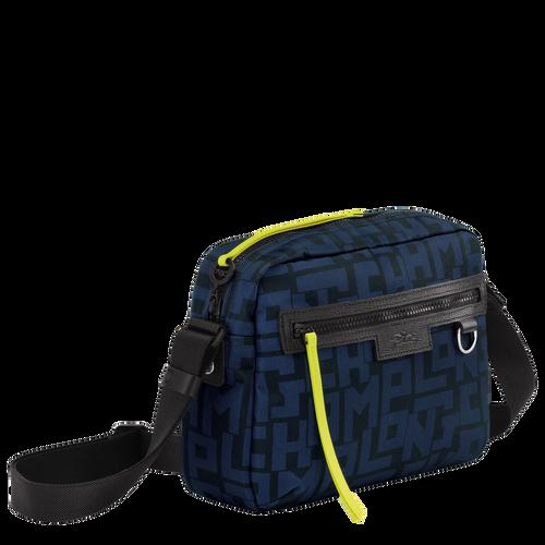 斜揹袋 M, 黑色/海軍藍色 - 查看 2 4 -