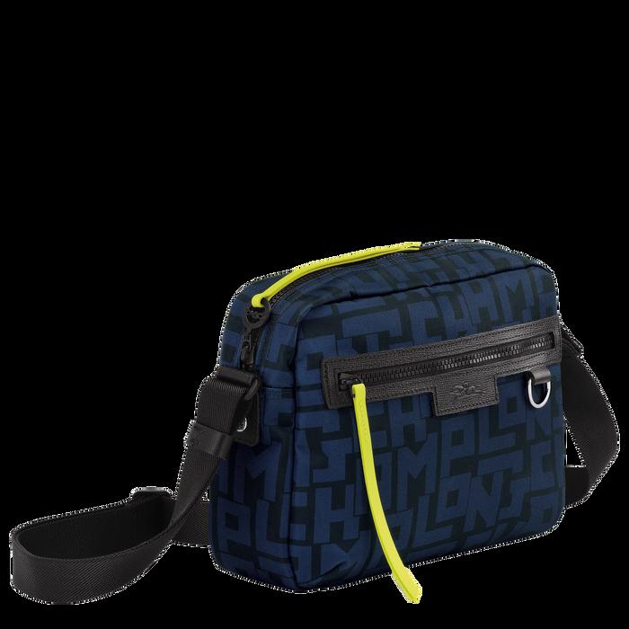 斜揹袋 M, 黑色/海軍藍色 - 查看 2 4 - 放大