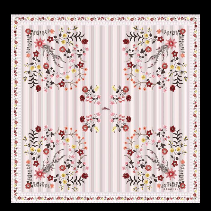 Colección primavera-verano 2021 Pañuelo de seda, Rosa