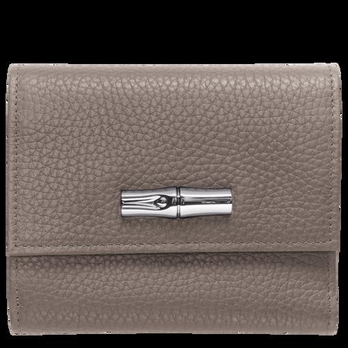 Compact wallet, Grey, hi-res - View 1 of 2