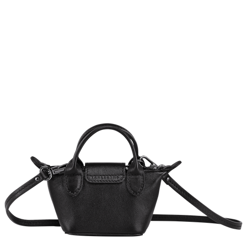 Crossbody bag XS, Black/Ebony - View 3 of  4 -