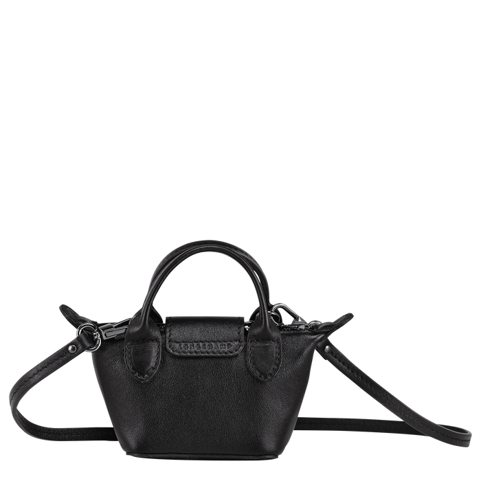 Crossbody bag XS, Black/Ebony - View 3 of  4 - zoom in
