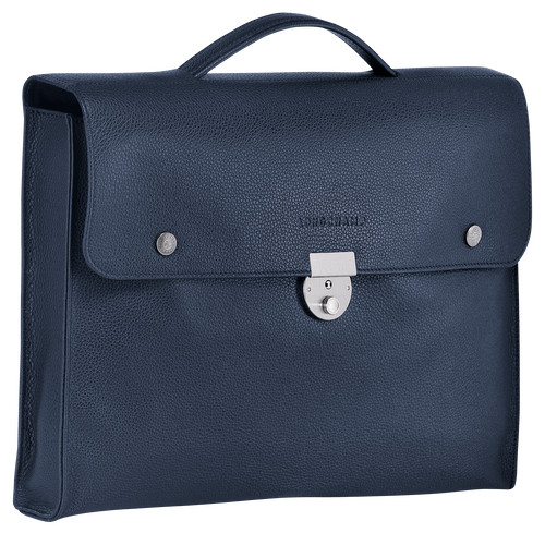 View 2 of Briefcase S, Navy, hi-res