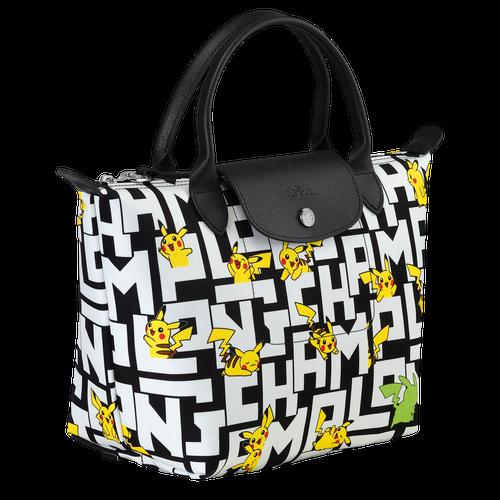 Handtasche S, Schwarz/Weiss - Ansicht 2 von 3 -