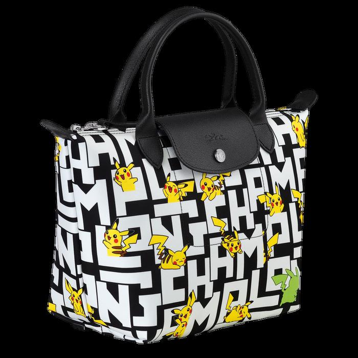 Handtasche S, Schwarz/Weiss - Ansicht 2 von 3 - Zoom vergrößern
