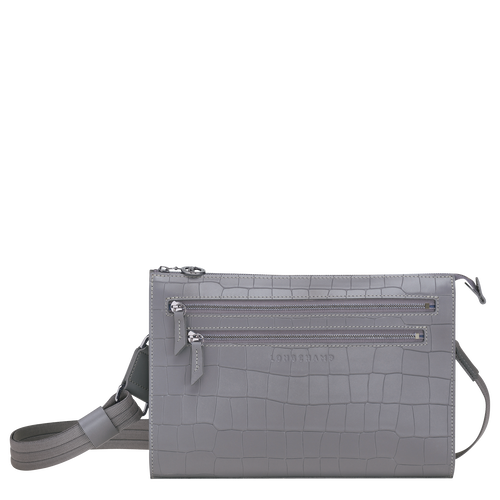 View 1 of Cross body bag, Grey, hi-res