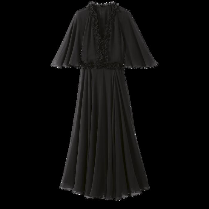 Collectie voor Lente/Zomer 2021 Midi-jurk, Zwart