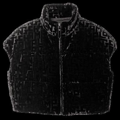 Display view 1 of Sleeveless puffer coat