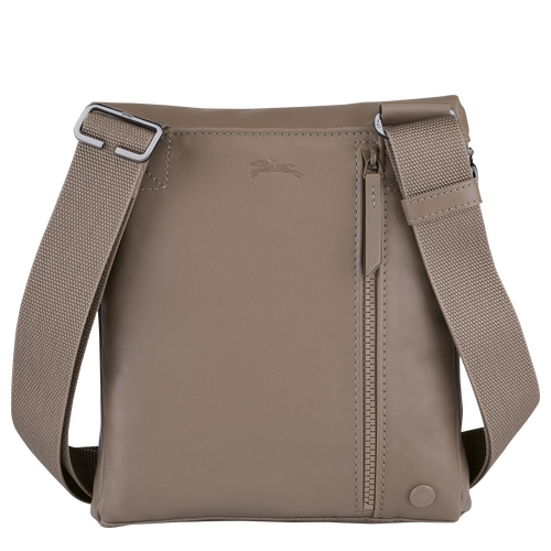 Crossbody bag, Taupe - View 3 of  3 -