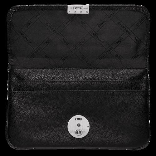 Pouch Le Foulonné Black (L3419021047) | Longchamp US