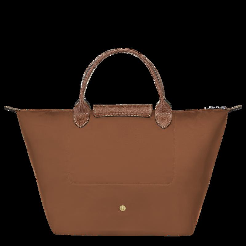 Le Pliage Original Top handle bag M, Cognac