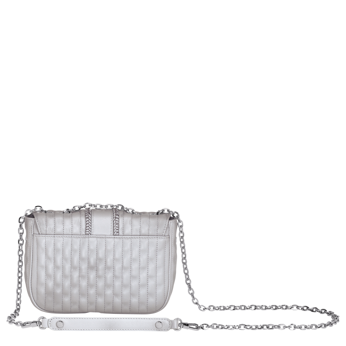 Crossbody bag XS, Pearl, hi-res - View 3 of 3