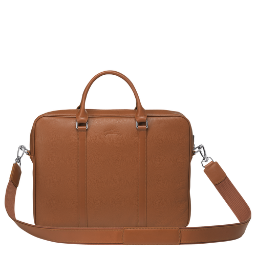 Briefcase XS, Caramel - View 3 of 3 -