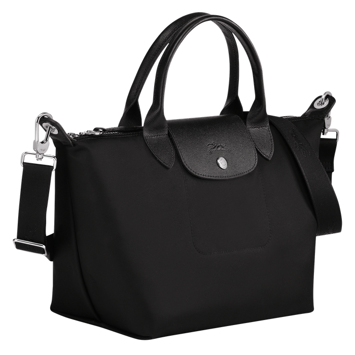 Top handle bag S, Black/Ebony - View 2 of  4 - zoom in