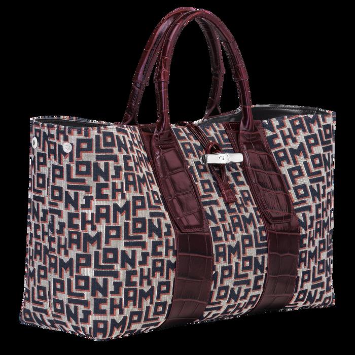 Top handle bag L, Mahogany - View 3 of 4 - zoom in