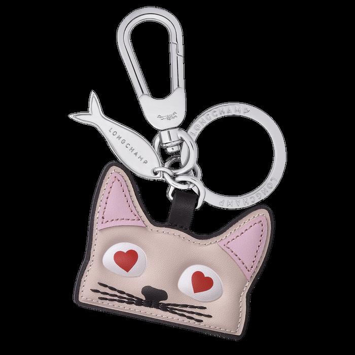Porte-clés Chat, Rose Pâle - Vue 1 de 1 - agrandir le zoom