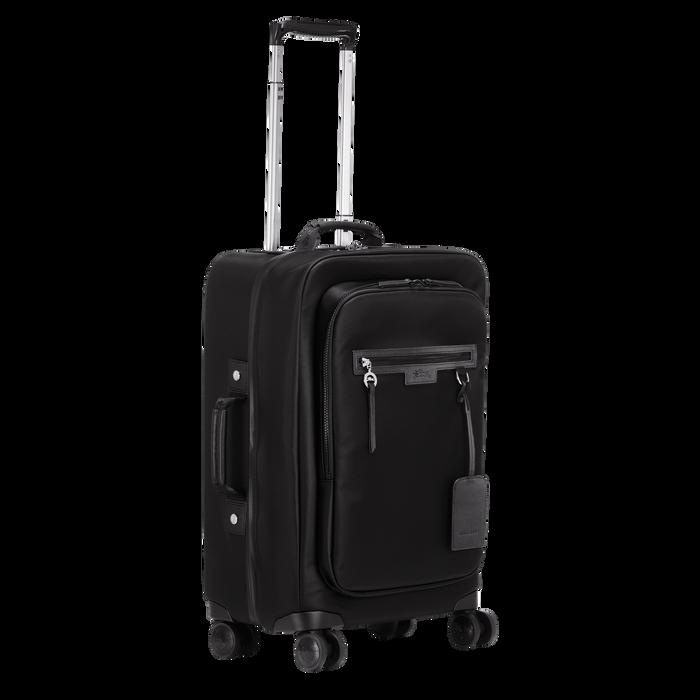 登機手提箱, 黑色/烏黑色 - 查看 2 3 - 放大