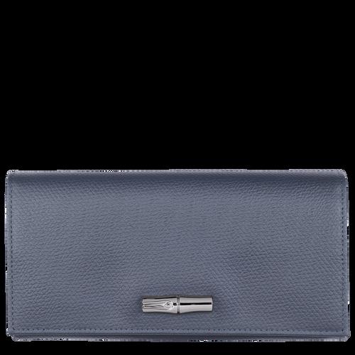 Continental wallet, Pilot blue, hi-res - View 1 of 2