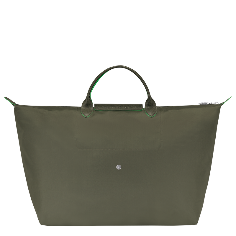 Travel bag L, Longchamp Green - View 3 of  5 - zoom in