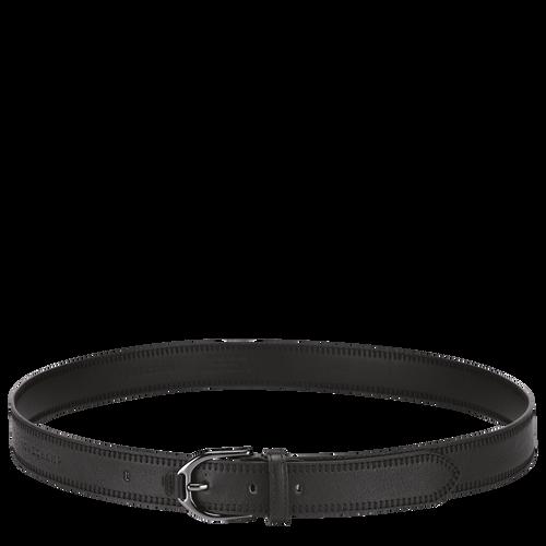 Longchamp 3D Damengürtel, Schwarz