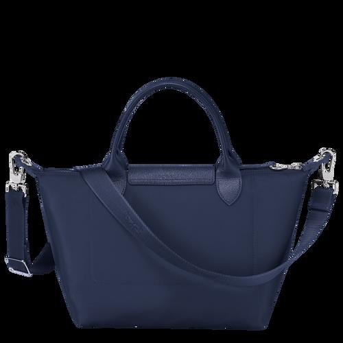 Tas met handgreep aan de bovenkant S, Marineblauw - Weergave 3 van  4 -