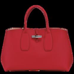 Top handle bag L, Red, hi-res