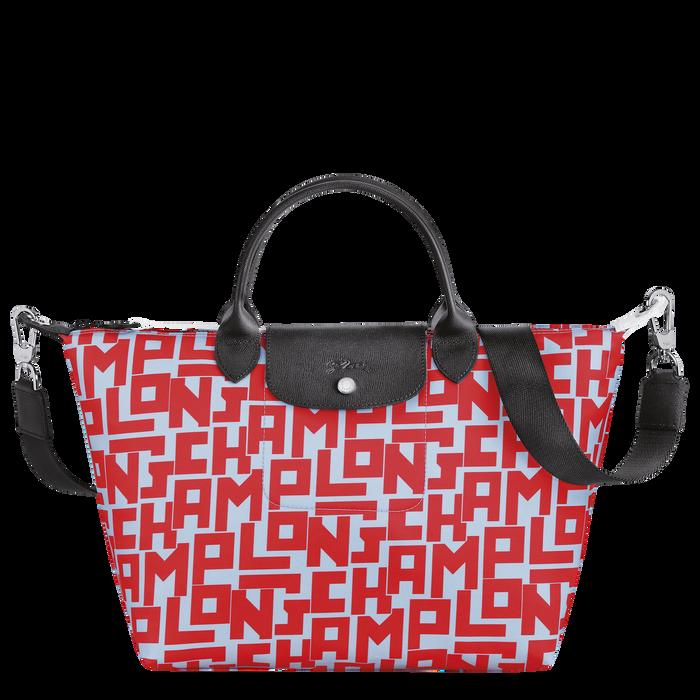 Le Pliage Collection Top handle bag M, Sage/Poppy